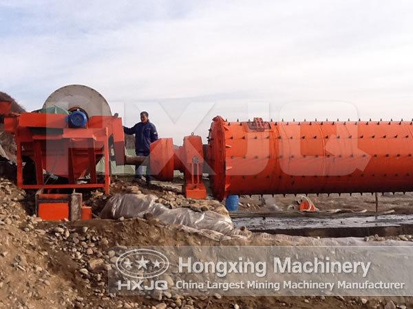 Iron ore dressing technology